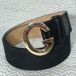 987802dea Gucci. Authentic Gucci Monogram G Belt